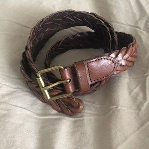 Jcrew leather belt xs/s